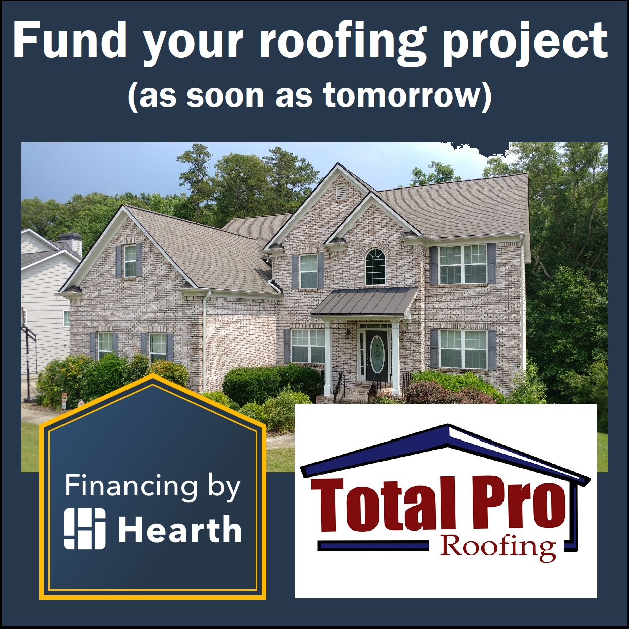 TOTAL PRO ROOFING FINANCING