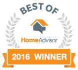Home Advisor - 2016 winner - Total Pro Roofing