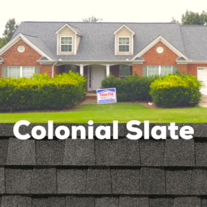 Certainteed Landmark Colonial Slate shingles installed by Total Pro Roofing