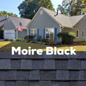 Certainteed Landmark Moire Black Gallery installed by Total Pro Roofing